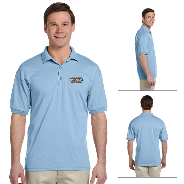 130b89ea10a Gildan 8800 Adult 5.6 oz DryBlend Jersey Polo Shirt | Embroidered ...