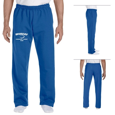 Customized Gildan 12300 Adult 9.3 oz DryBlend Open-Bottom Sweatpant