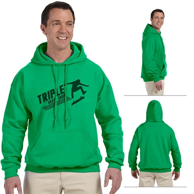 Customized Gildan 12500 Adult 9.3 oz DryBlend Pullover Hooded Sweatshirt