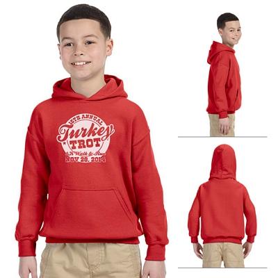 Customized Gildan 18500B Youth Heavy Blend Hooded Sweatshirt