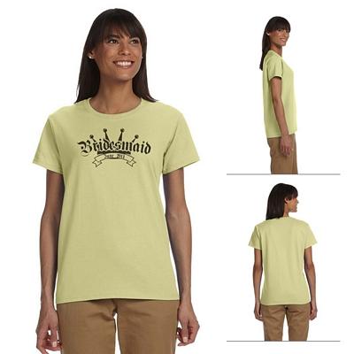 Customized Gildan 2000L 6.1 oz Ladies' Ultra Cotton T-Shirt