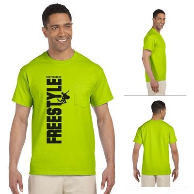 Customized Gildan 2300 Ultra Cotton Pocket T-Shirt
