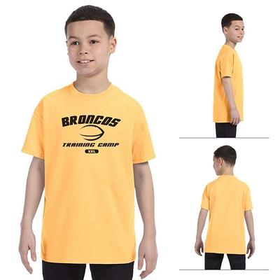 Customized Gildan 5000B Youth Heavy Cotton Cotton T-Shirt