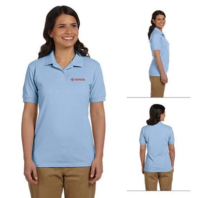 Customized Gildan 94800L Ladies' 6.5 oz DryBlend Pique Sport Polo Shirt