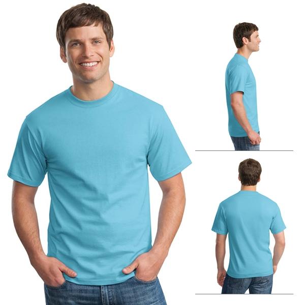 4eec673043392 Hanes 5250 Adult 6.1 oz Tagless ComfortSoft T-Shirt (Non-Printed ...