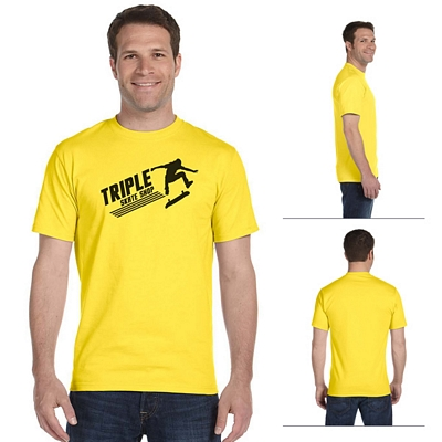 Customized Hanes 5280 5.2 oz ComfortSoft Cotton T-Shirt
