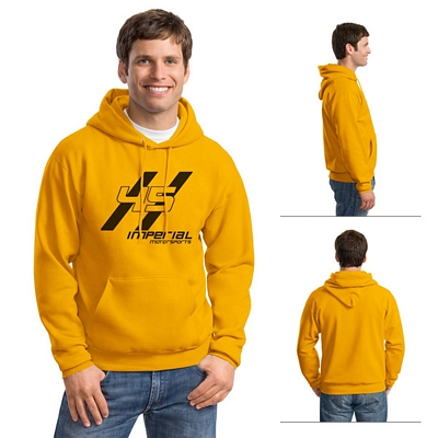Customized Hanes P170 7.8 oz ComfortBlend EcoSmart 50/50 Pullover Hood