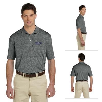 Customized Harriton M353 Mens 3.5 oz Double Mesh Sport Shirt