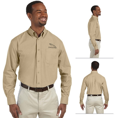 Customized Harriton M510 Mens Value Poplin