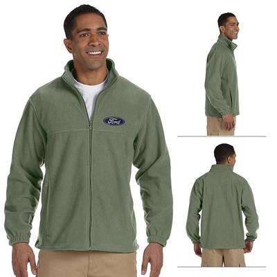 Customized Harriton M990 Mens Full-Zip Fleece