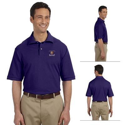 Customized Jerzees 440 Men's 6.5 oz Cotton Pique Polo