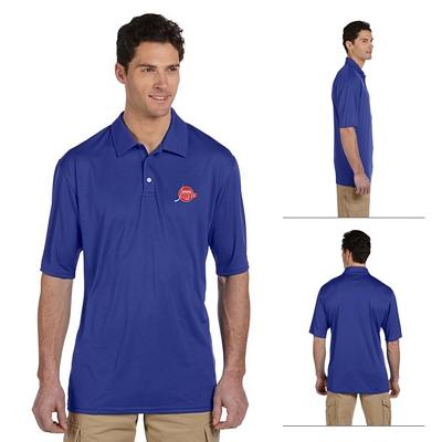 Customized Jerzees 441M Men's 4.1 oz 100% Polyester Micro Pointelle Mesh
