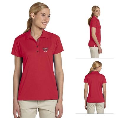 Customized Jerzees 441W Ladies' 4.1 oz 100% Polyester Micro Pointelle Mesh