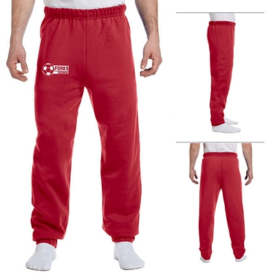 Customized Jerzees 973 8 oz NuBlend 50/50 Sweatpants