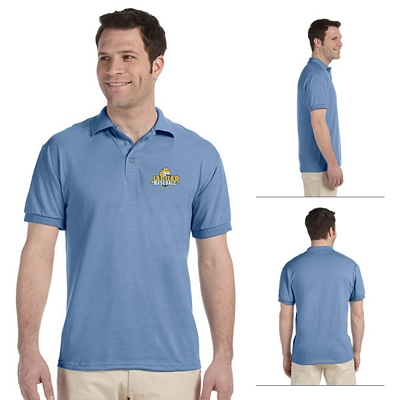 Customized Jerzees J300 5.6 oz 50/50 Blended Jersey Polo
