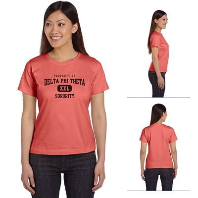 Customized LAT 3580 Ladies' Combed Ringspun Jersey T-Shirt
