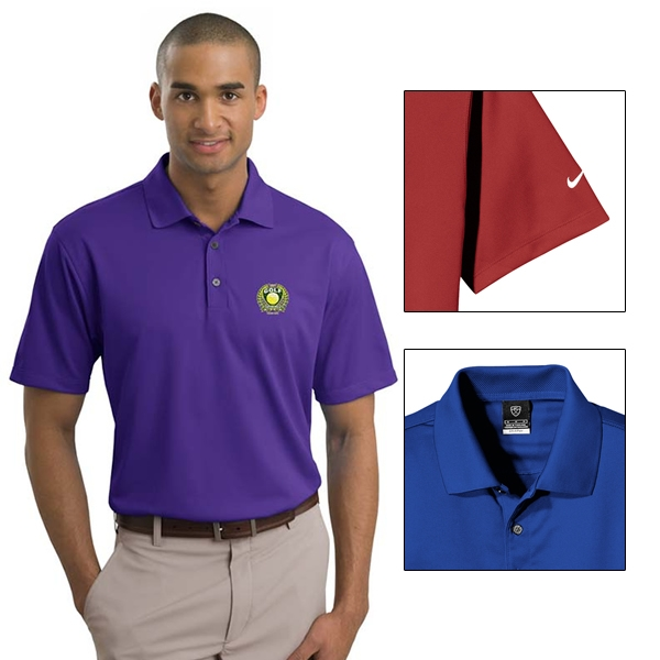 Nike Golf 203690 Men S Tech Basic Dri Fit Polo Shirt Embroidered