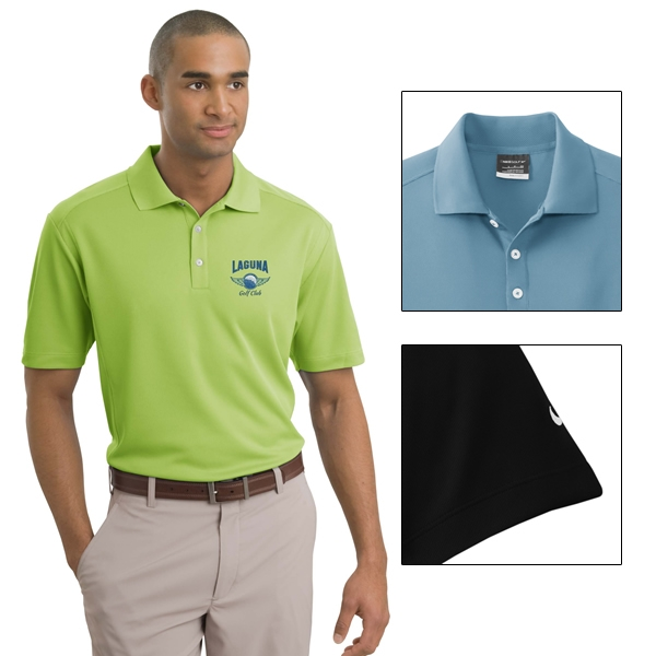 64095ef8 Nike Golf 267020 Men's Dri-FIT Classic Polo Shirt | Embroidered Logo ...