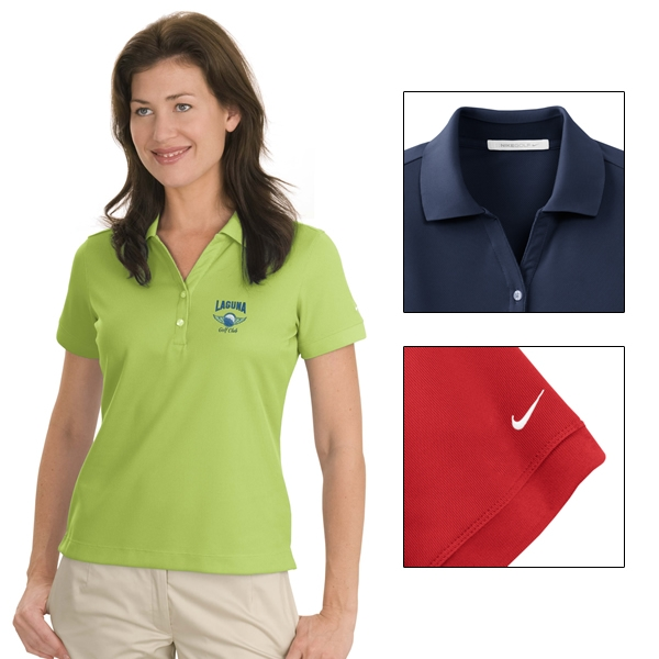 f9799112 Nike Golf 286772 Ladies' Dri-FIT Classic Polo Shirt | Embroidered ...