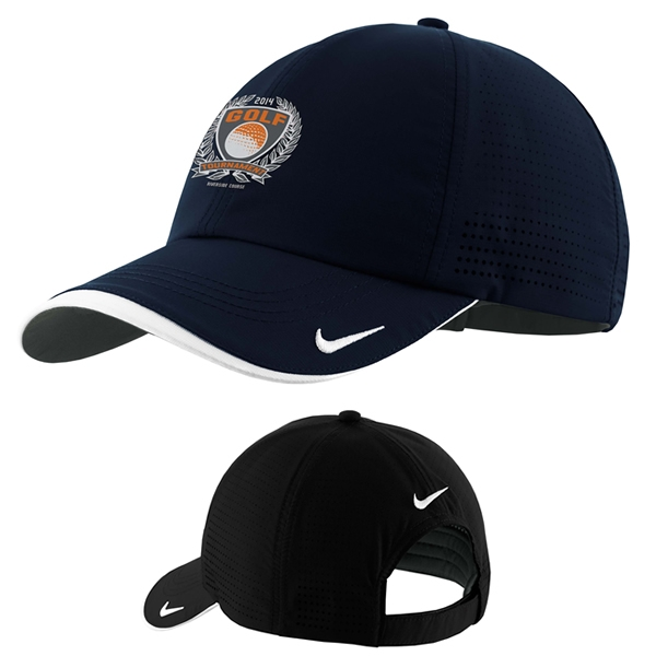 44c895bd6c1 Customized Nike Golf 429467 Dri-FIT Swoosh Perforated Cap