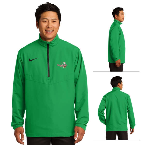 c7f0246ae6c2 Customized Nike Golf 578675 Men s Sport 1 2-Zip Wind Shirt Pullover