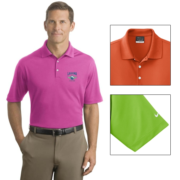 6e6adf8f Nike Golf 604941 Men's Tall Dri-FIT Micro Pique Polo | Embroidered ...