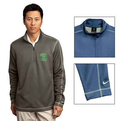 Customized Nike Golf 244610 Sphere Dry Cover-Up Pullover