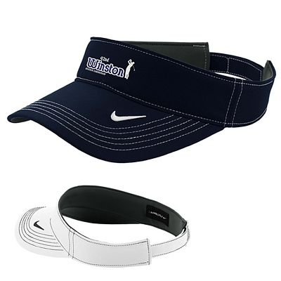 Customized Nike Golf 429466 Dri-FIT Swoosh Head Visor