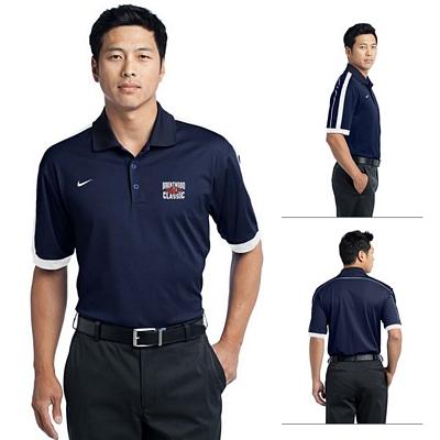 Nike golf 474237 men 39 s dri fit n98 polo shirt for Corporate logo golf shirts