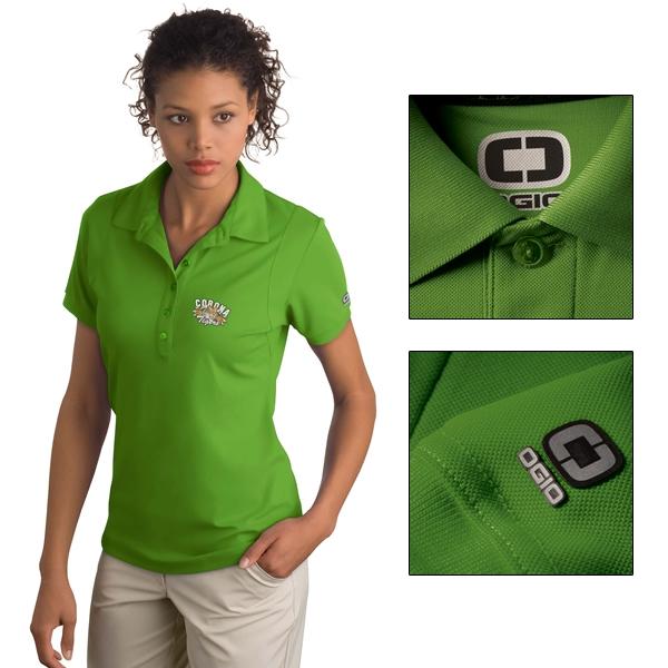 bb10b35c OGIO LOG101 Jewel Sport Polo Shirt | Embroidered Logo OGIO Sport ...