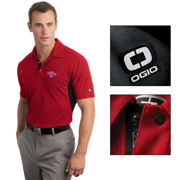 9b858b41 OGIO OG102 Accelerator Sport Polo Shirt | Embroidered Logo OGIO Golf ...