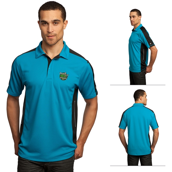 Ogio og106 men 39 s trax sport polo shirt embroidered logo for Men s athletic polo shirts