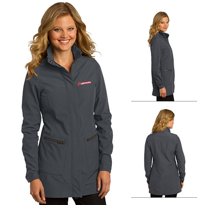 Customized OGIO LOG504 Ladies' Intake Trench Jacket