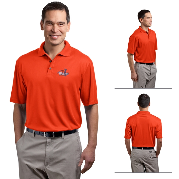 646bc8710 Port Authority K528 Performance Fine Jacquard Polo | Embroidered ...