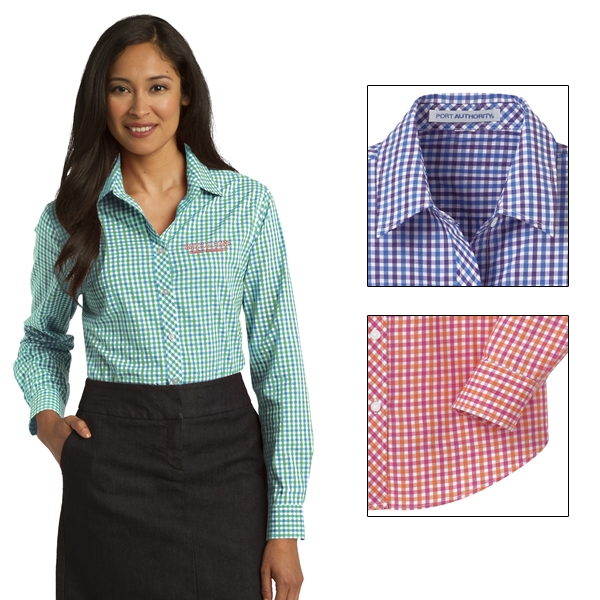 Port authority long sleeve dress shirt