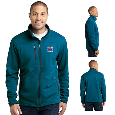 Customized Port Authority F222 Pique Fleece Jacket