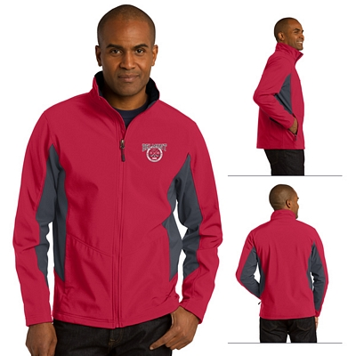 Customized Port Authority J318 Core Colorblock Soft Shell Jacket