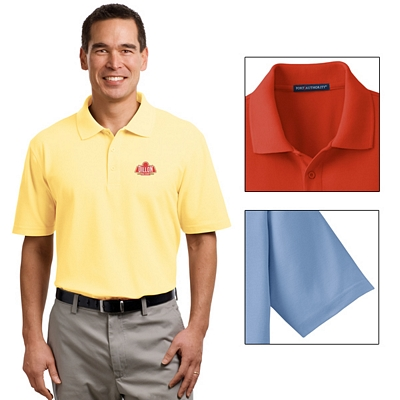 Customized Port Authority K510 Stain-Resistant Polo