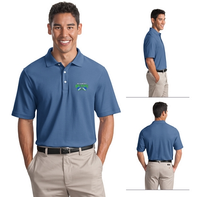 Customized Port Authority K800 Men's 6.5 oz EZCotton Pique Polo