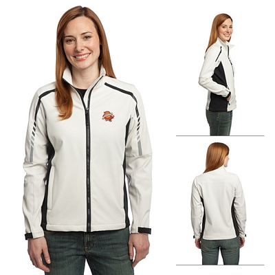 Customized Port Authority L307 Ladies Embark Soft Shell Jacket
