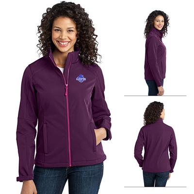 Customized Port Authority L316 Ladies Traverse Soft Shell Jacket