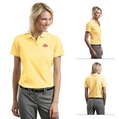 Customized Port Authority L510 Ladies 5.6 oz Stain-Resistant Polo