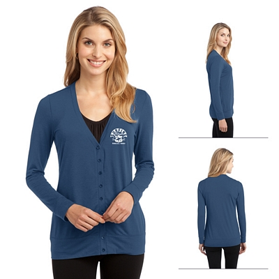 Customized Port Authority L545 Ladies Concept Cardigan