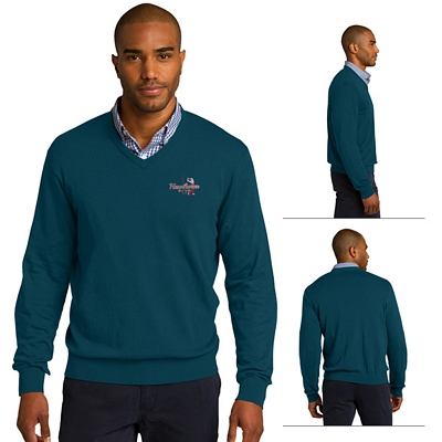 Customized Port Authority SW285 V-Neck Sweater