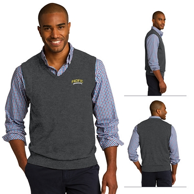 Customized Port Authority SW286 Sweater Vest