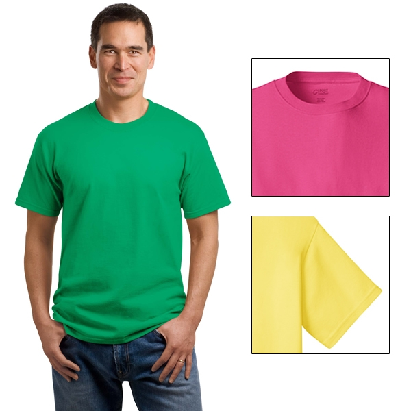 Port /& Company 5.4-oz 100/% Cotton T-Shirt4XL Athletic Maroon PC54