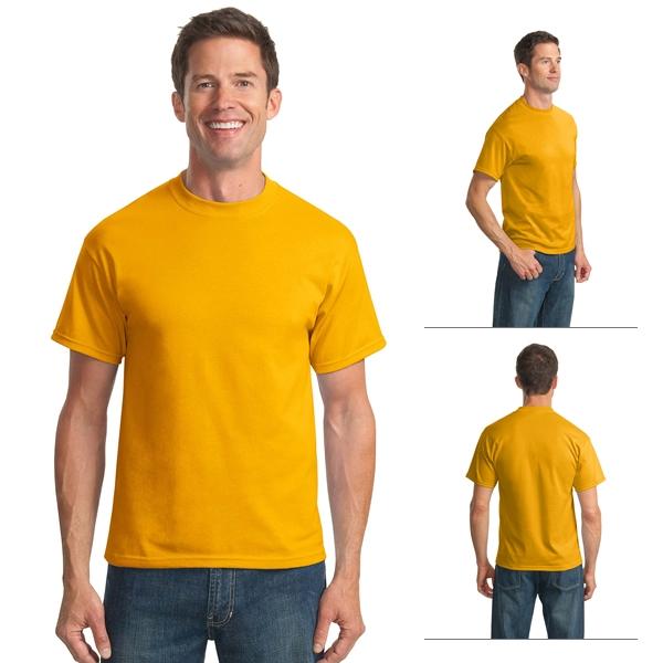 ea02aed652a 330184 Port   Company PC55 Adult 5.5 oz 50 50 Cotton Poly T-Shirt ...