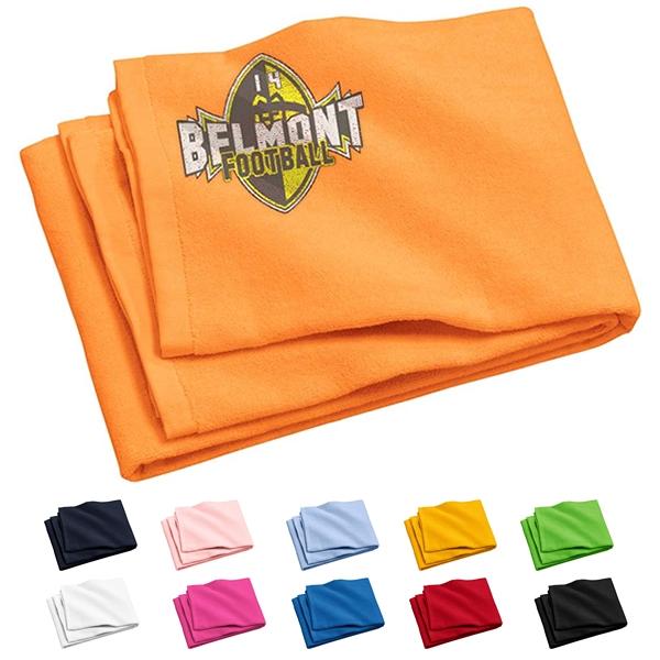 Beach Blanket Logo: Port & Company PT42 Beach Towel
