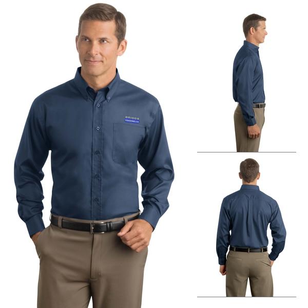 40f0806e Red House RH38 Men's Herringbone Non-Iron Button-Down Shirt ...