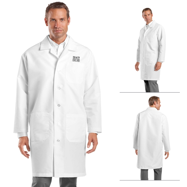 Red Kap KP14 Doctor Lab Coat. Feature Product. White